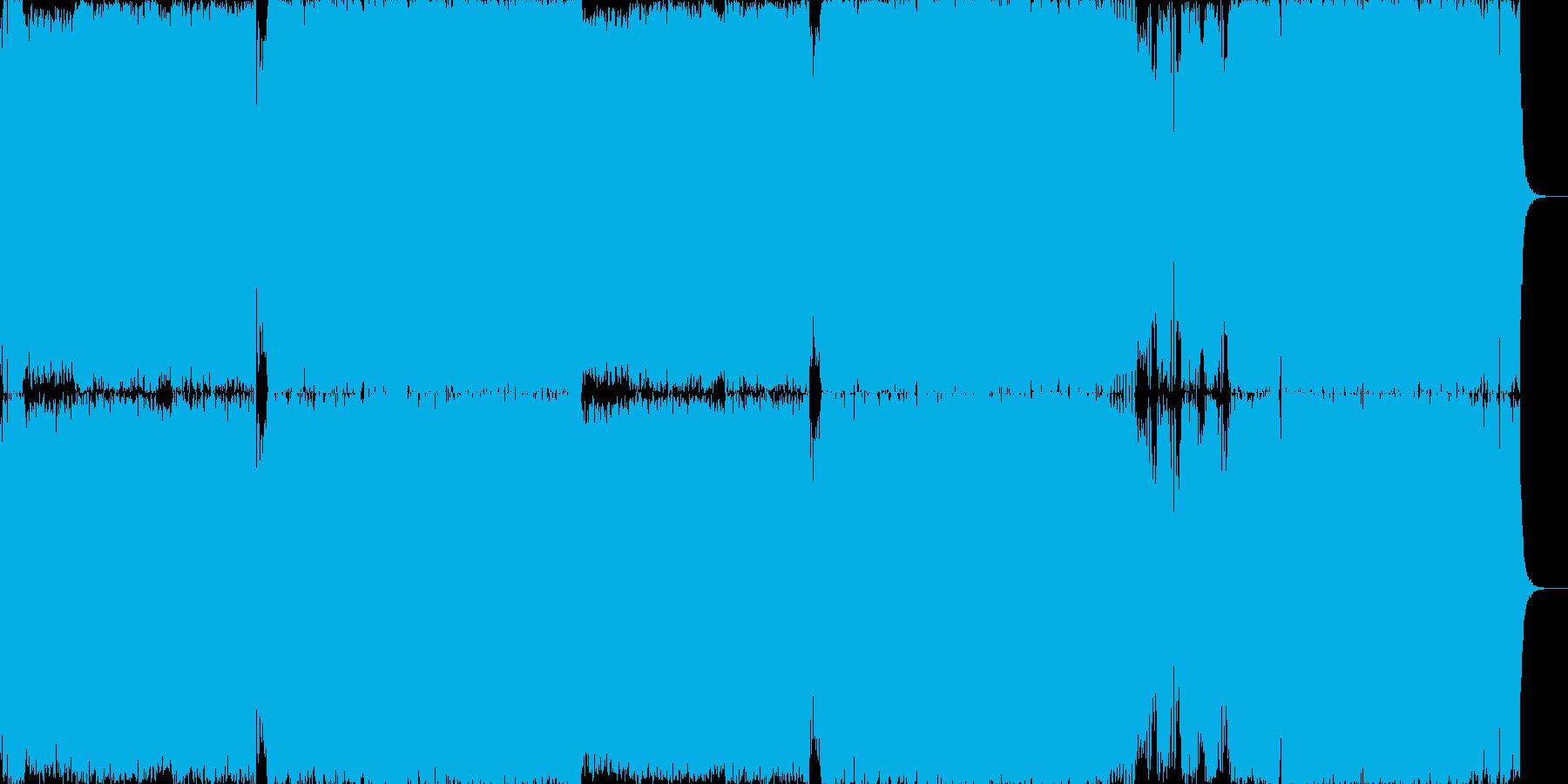 おしゃれなハウスポップの再生済みの波形