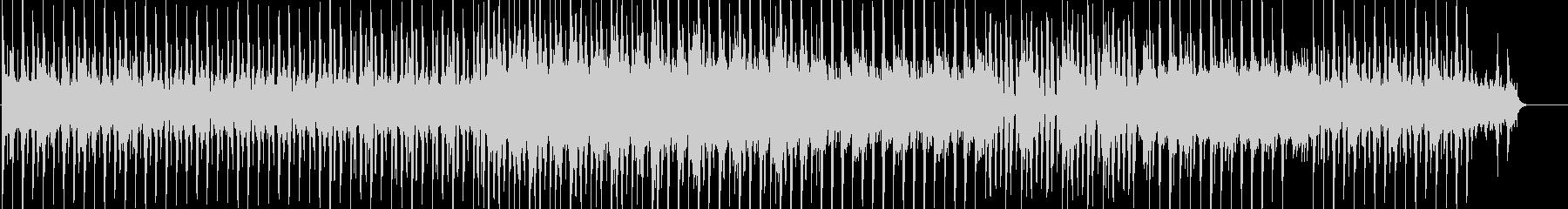 シンプルでリズミカルなエレクトロニカの未再生の波形