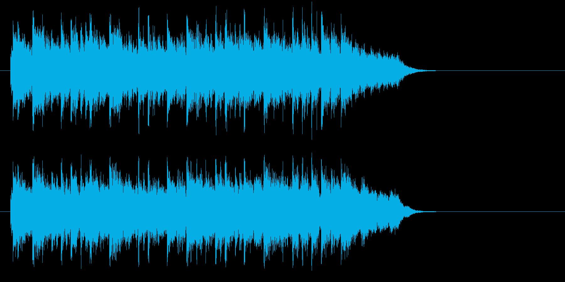 AOR調スタイリッシュ・バラードの再生済みの波形