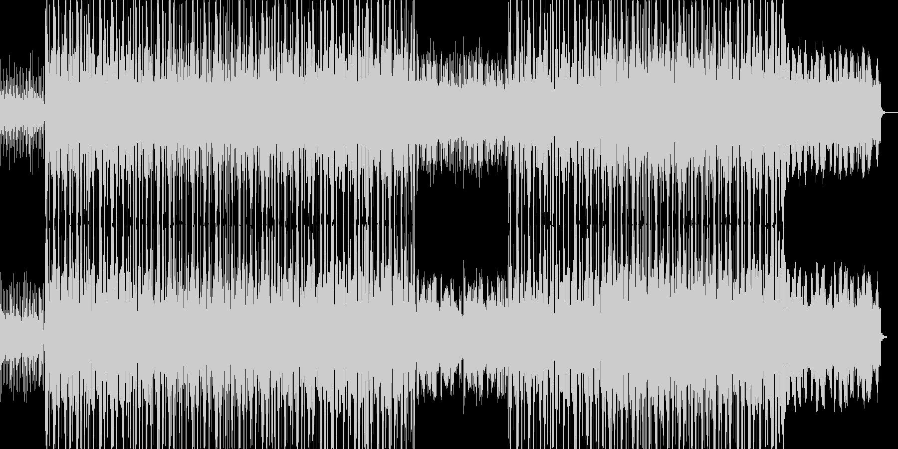 EDMを取り入れたアメリカンポップス風の未再生の波形