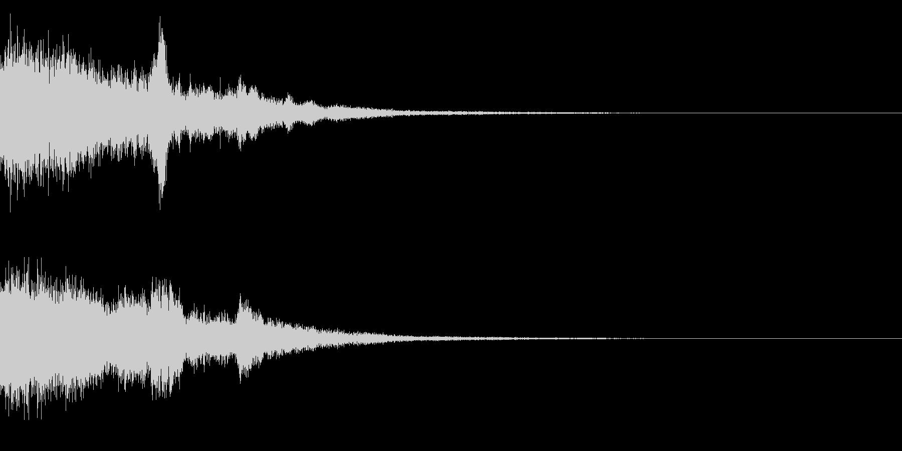 シャキーン♪琴,和風演出,テロップなど4の未再生の波形