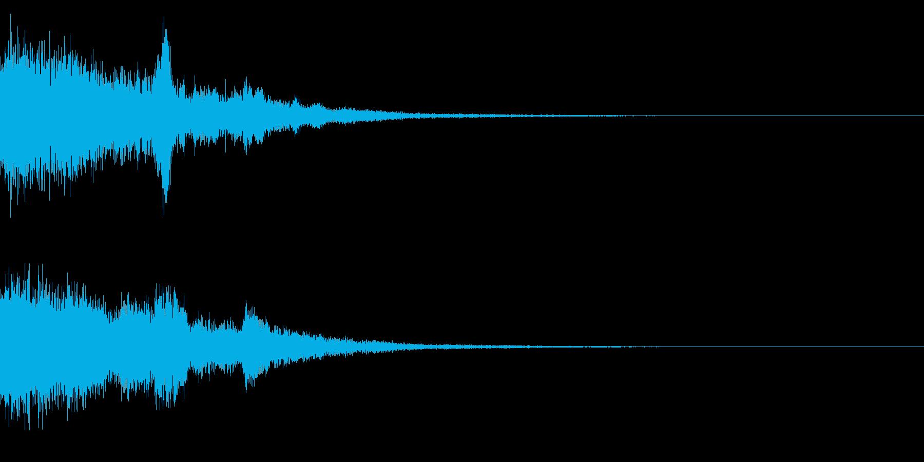 シャキーン♪琴,和風演出,テロップなど4の再生済みの波形