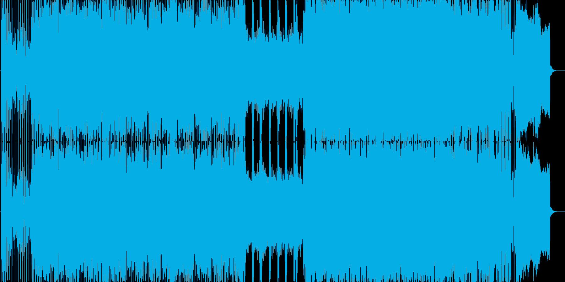 PV、予告ムービー用楽曲の再生済みの波形
