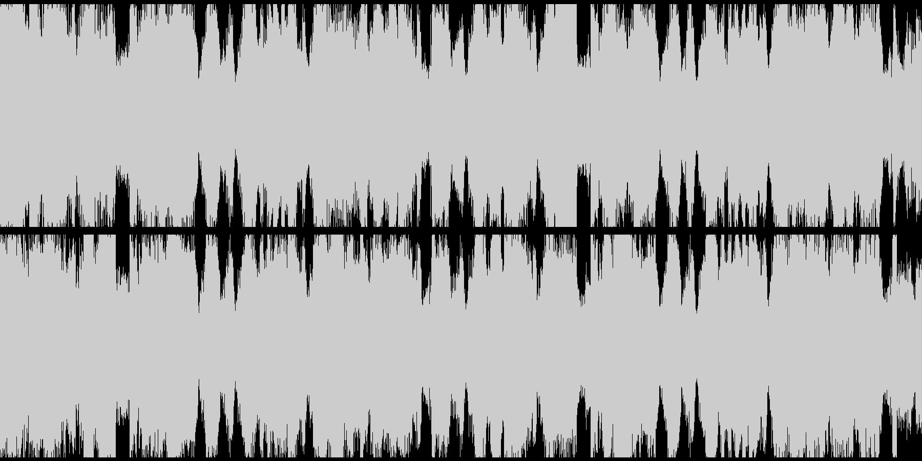 Brostep bpm140Loop仕様の未再生の波形