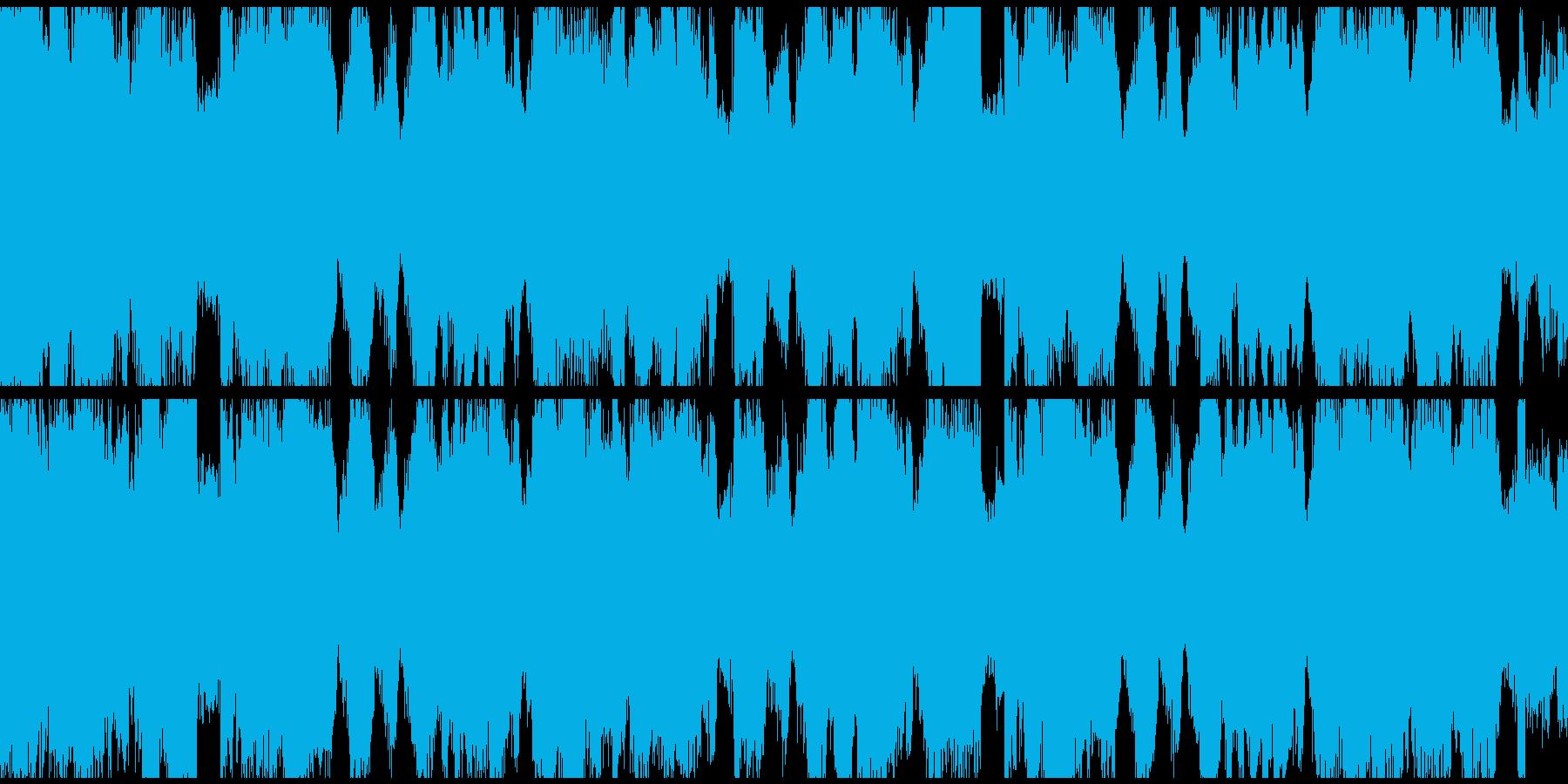 Brostep bpm140Loop仕様の再生済みの波形