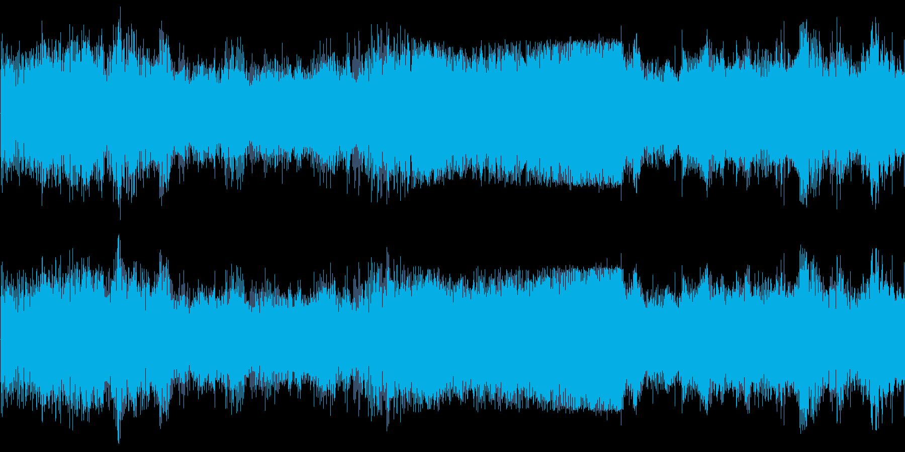 ヘリコプター駆動中の再生済みの波形