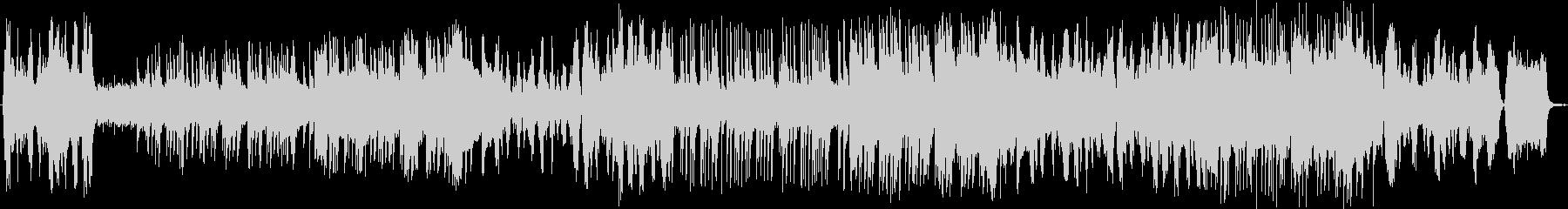 ストリングスとビアノの優雅な午後のBGMの未再生の波形