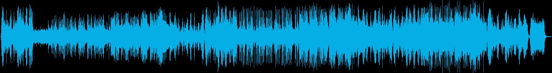 ストリングスとビアノの優雅な午後のBGMの再生済みの波形