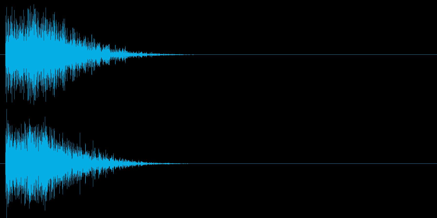 汎用 ヒット系02(小) 出題 フリップの再生済みの波形