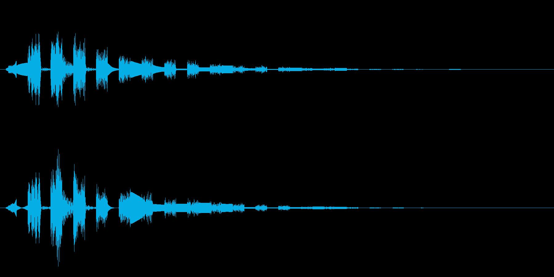 サウンドロゴやゲーム・映像・CMなどの再生済みの波形
