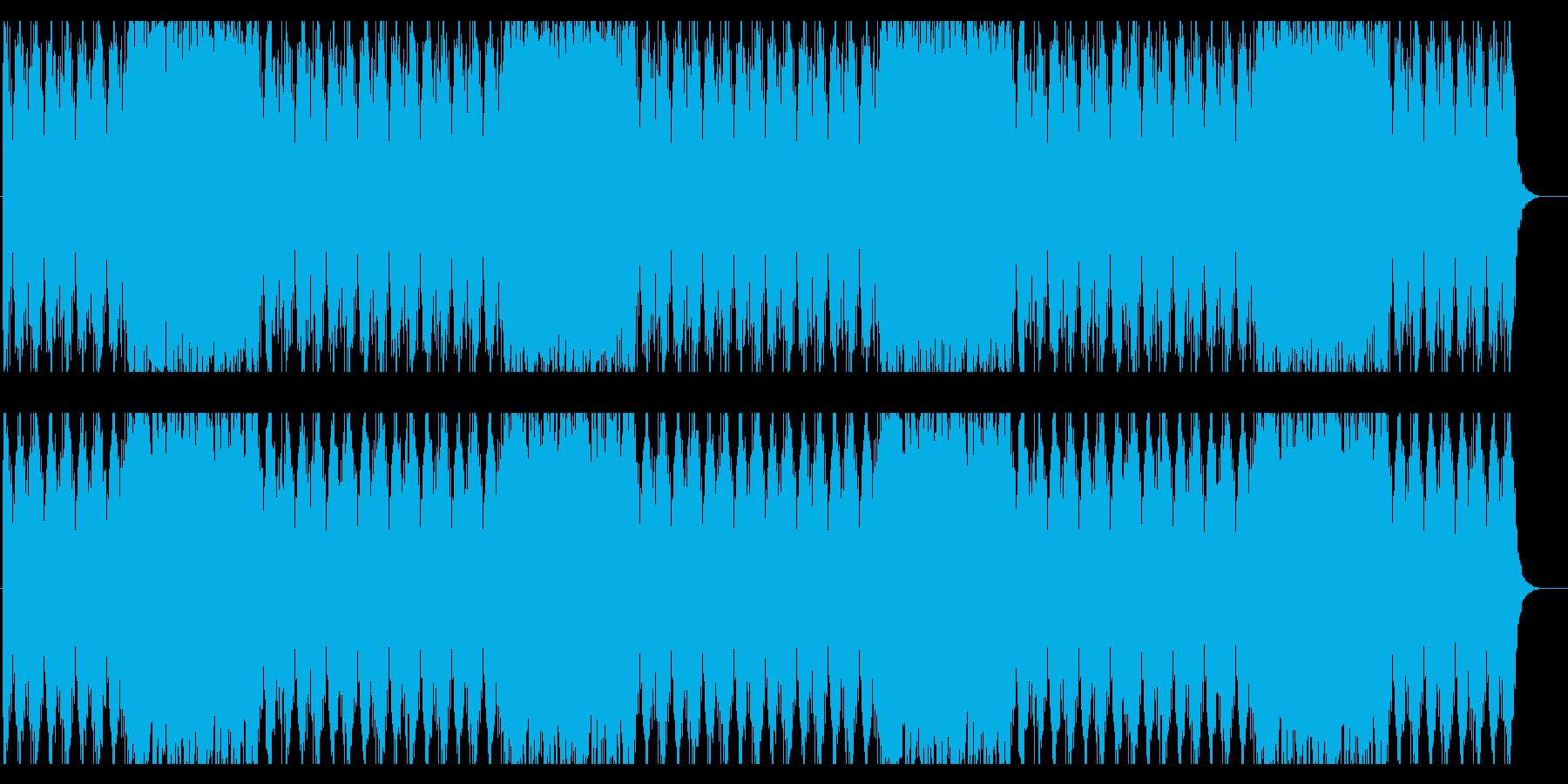 【オーケストラ】壮大なRPG戦闘曲の再生済みの波形