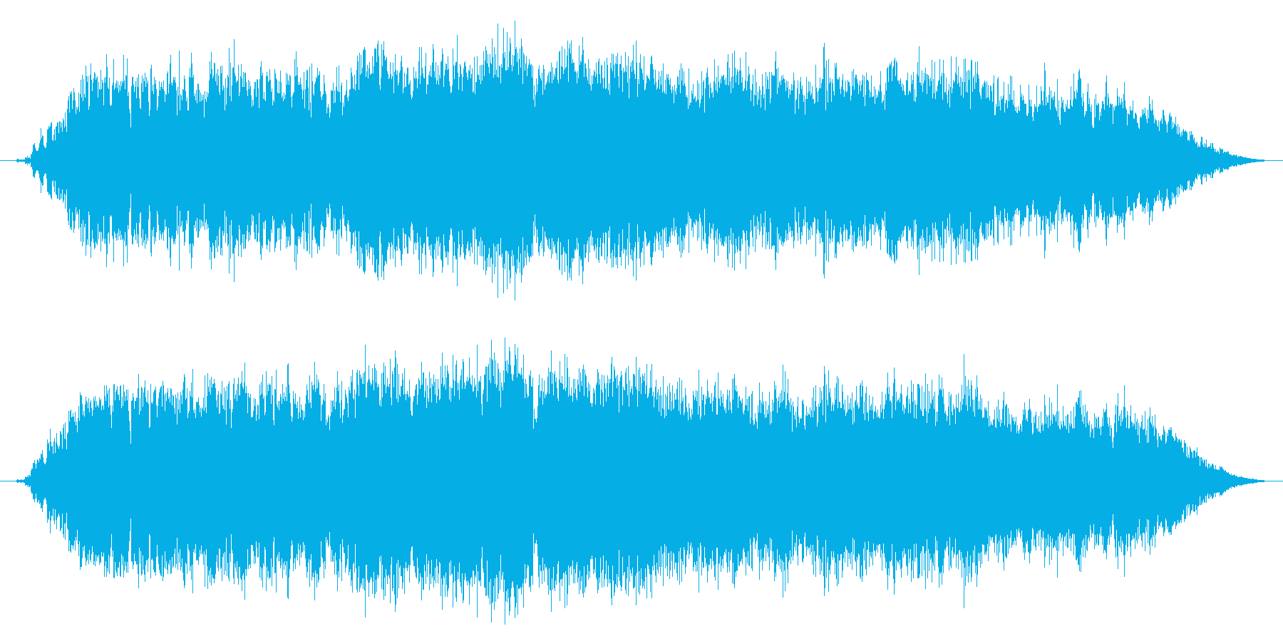 暴走族の走行およびコール タイプDの再生済みの波形