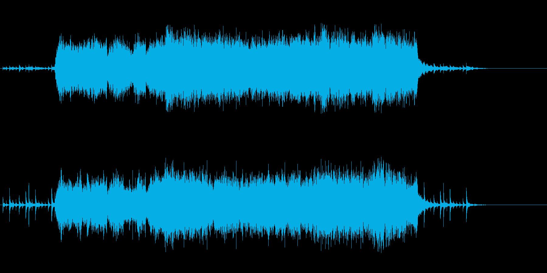 和風の幻想的なオーケストラの再生済みの波形