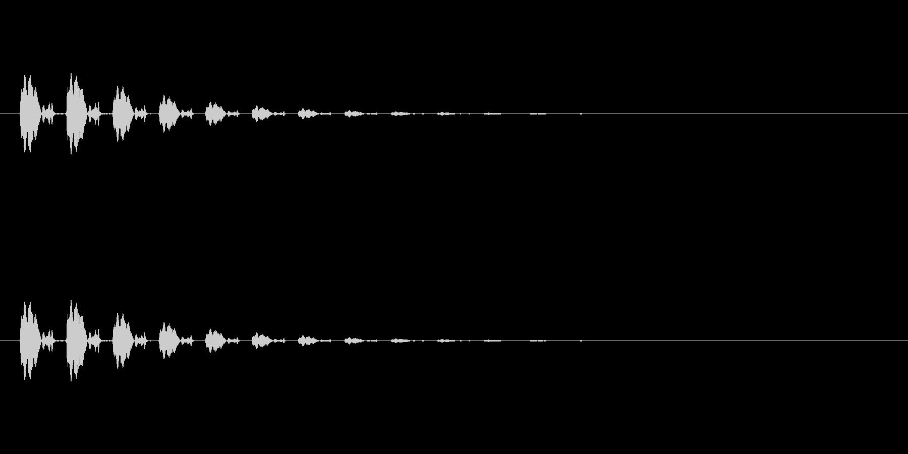 【ポップモーション20-3】の未再生の波形