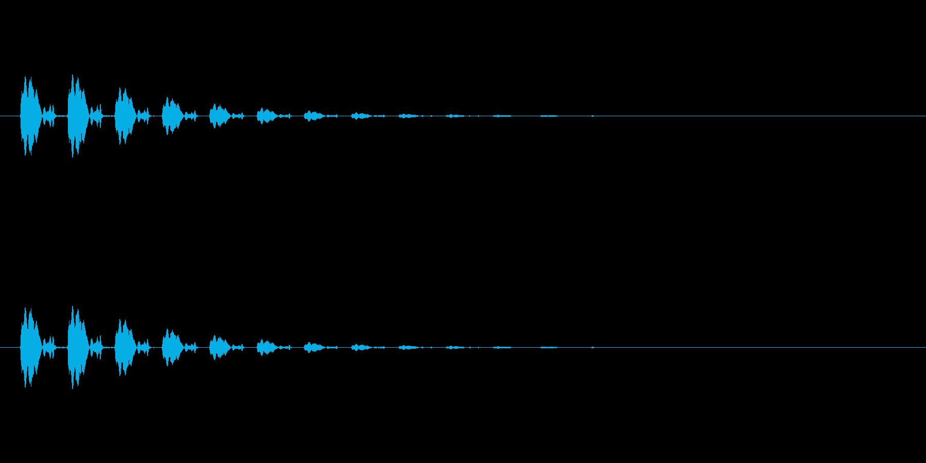【ポップモーション20-3】の再生済みの波形