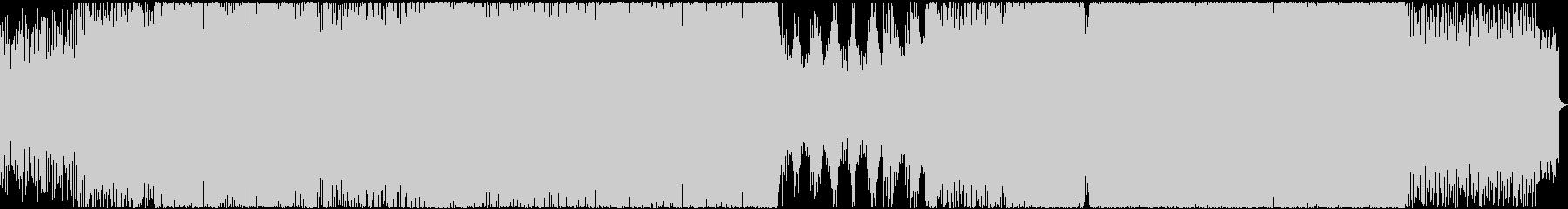 ゲーム・テクノトランス系のバトルEDM曲の未再生の波形