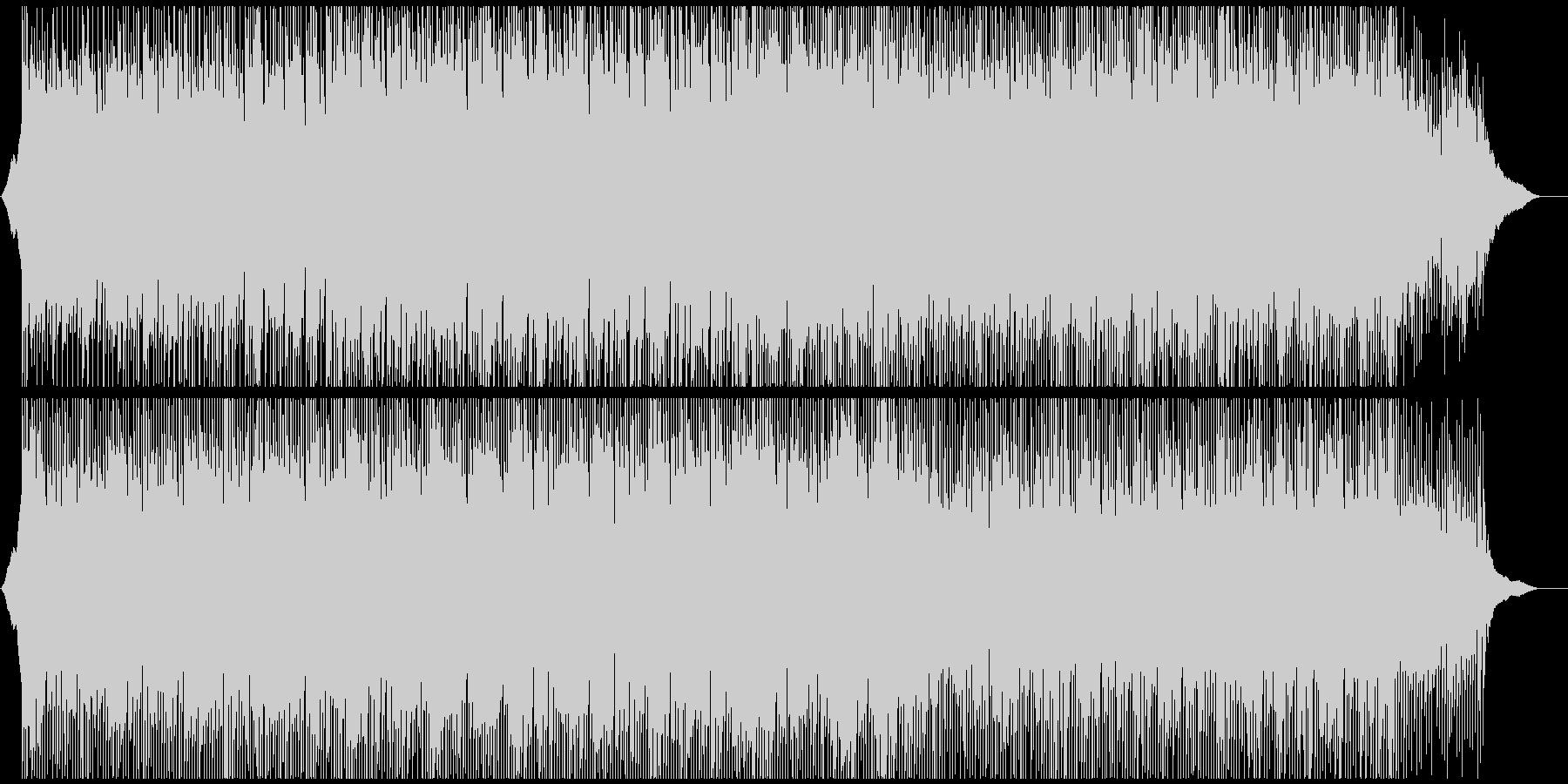 企業VPや映像に 穏やかに澄み切った曲の未再生の波形