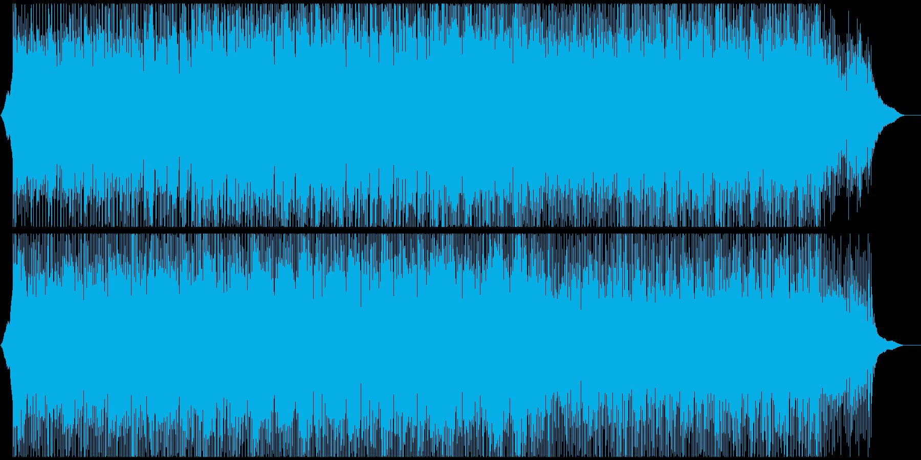 企業VPや映像に 穏やかに澄み切った曲の再生済みの波形