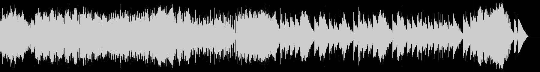 卒業式 威風堂々 エルガー(オルゴール)の未再生の波形