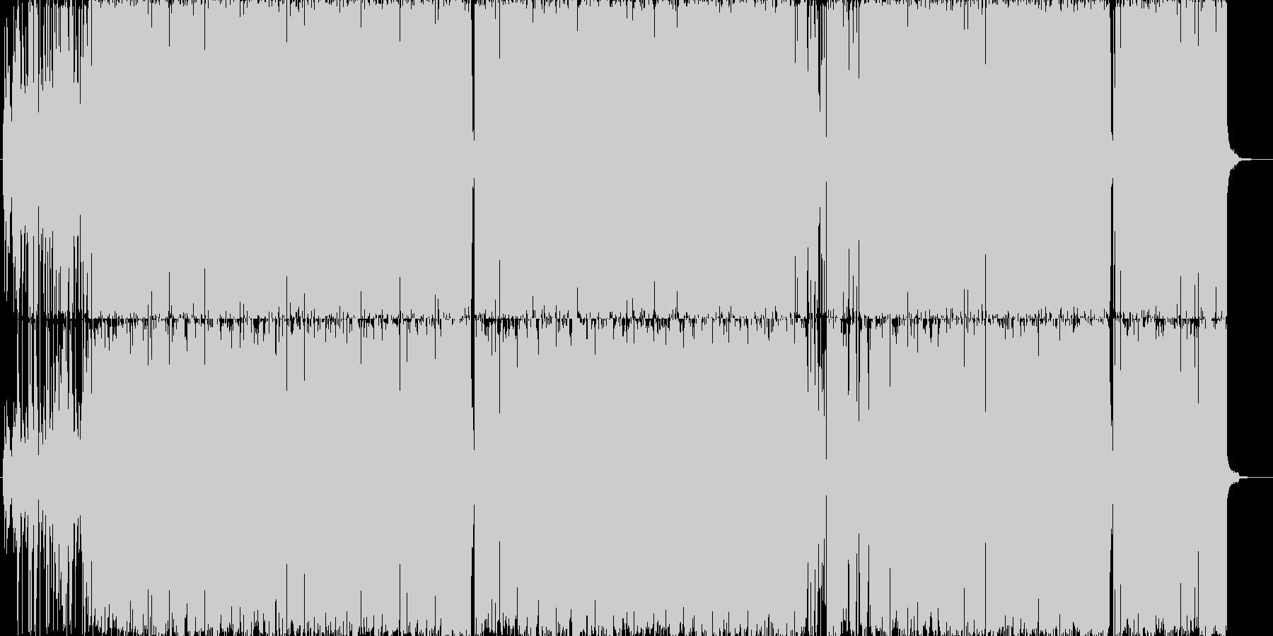 ファンキーでジャジーで思わず踊っちゃう!の未再生の波形