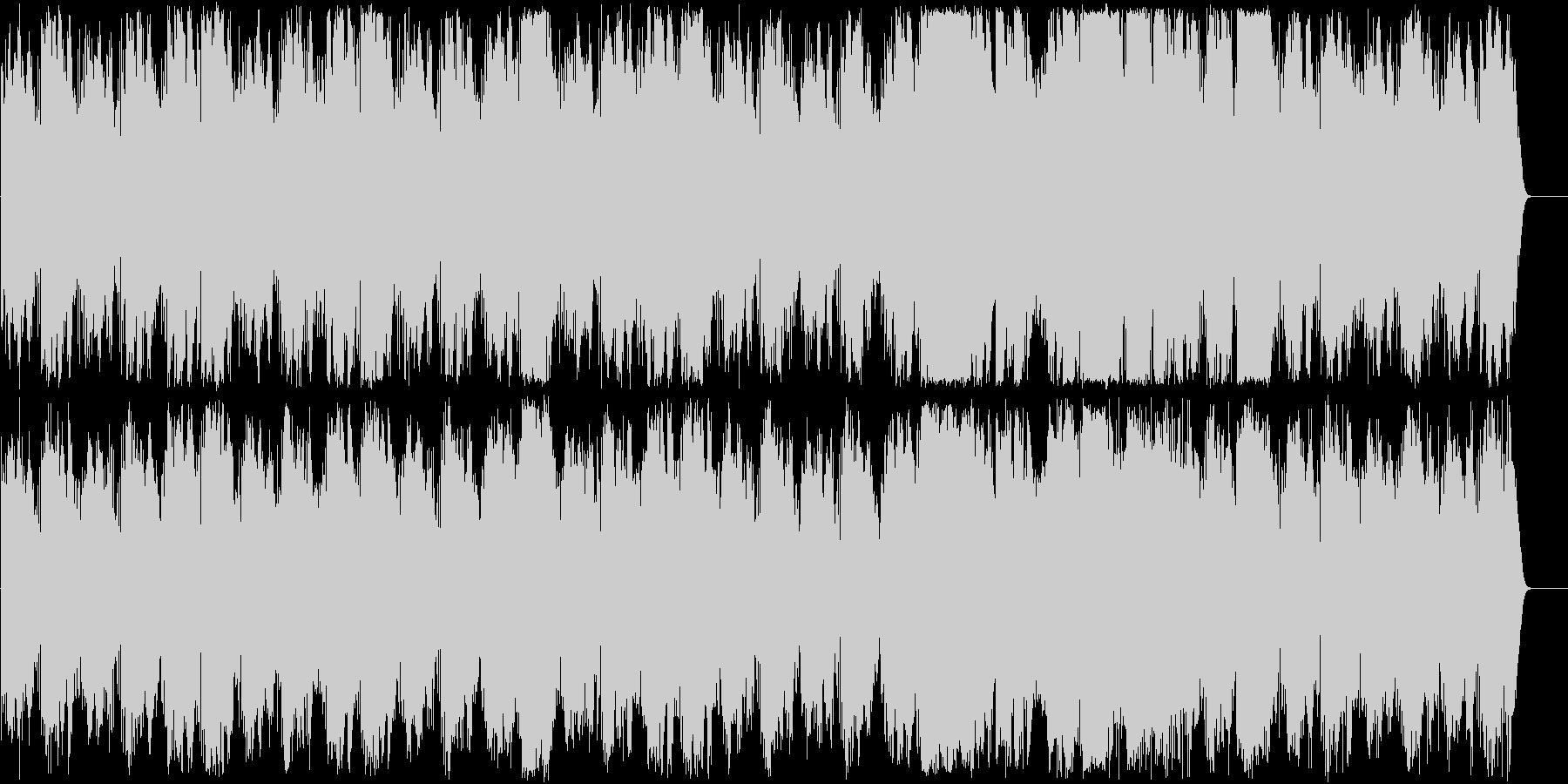 サティ ジムノペディ第一番のアンビエントの未再生の波形
