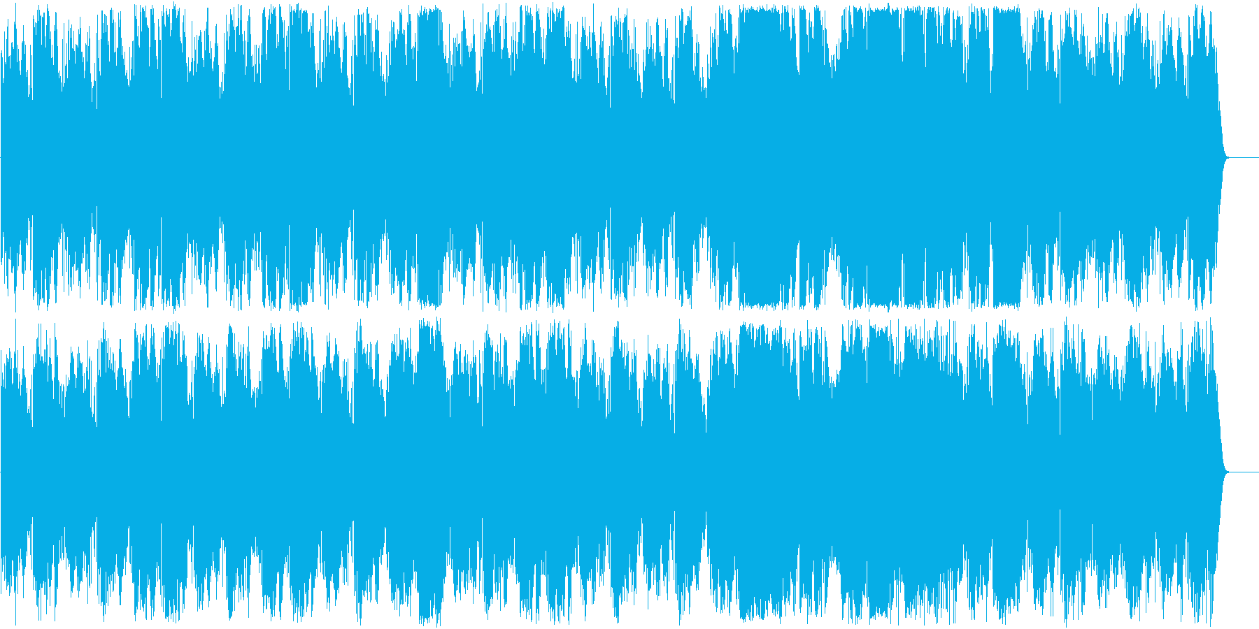 サティ ジムノペディ第一番のアンビエントの再生済みの波形