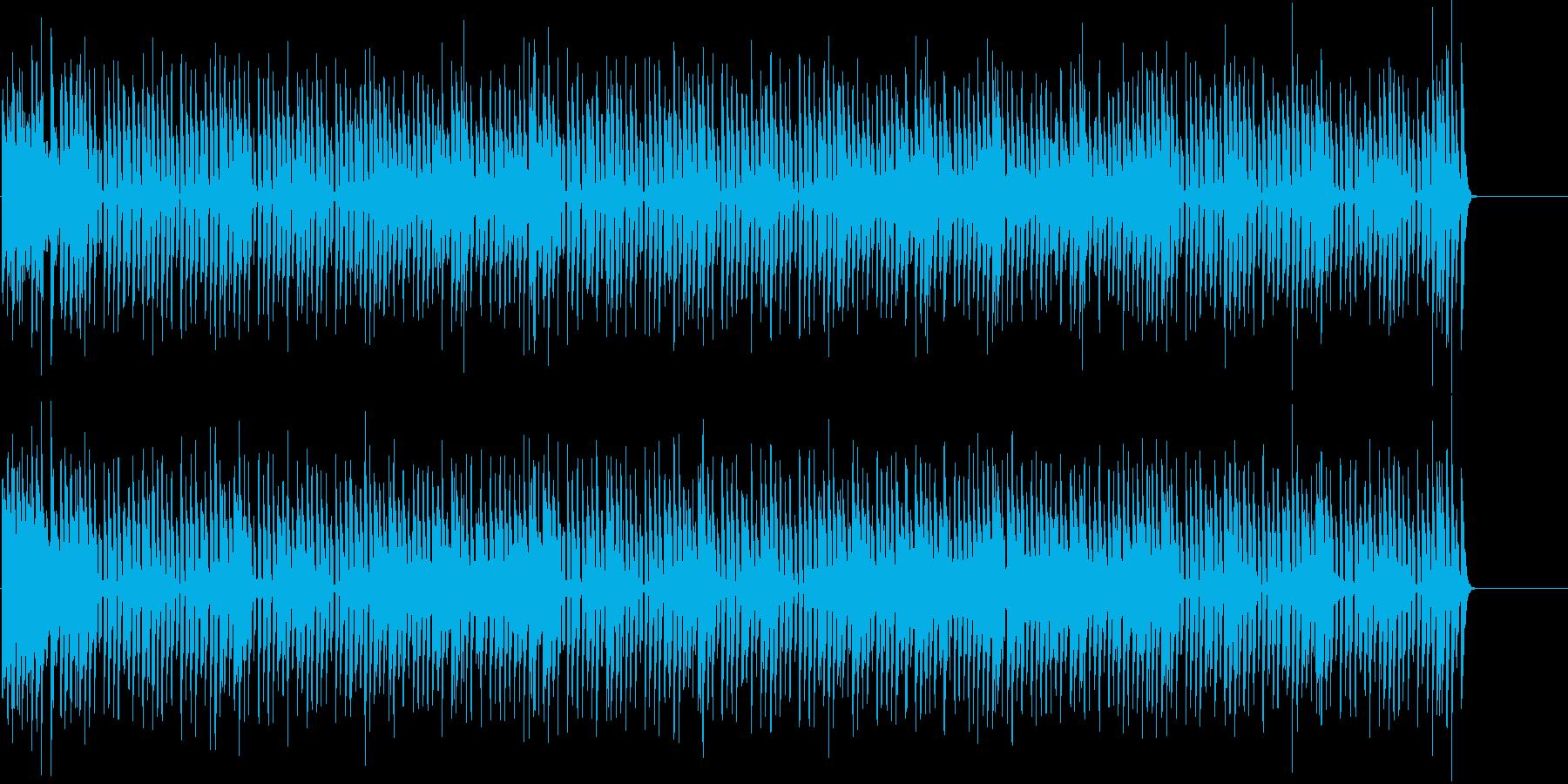 オープニング 元気 楽しい いきいきの再生済みの波形