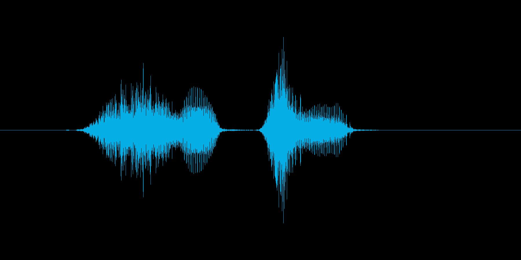 7(しち)の再生済みの波形