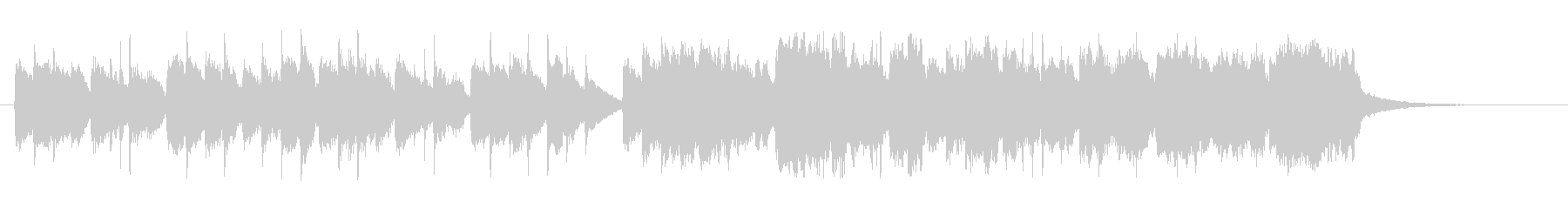 ヴァイオリンとチェンバロのメヌエットの未再生の波形