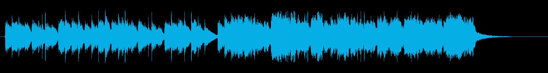 ヴァイオリンとチェンバロのメヌエットの再生済みの波形