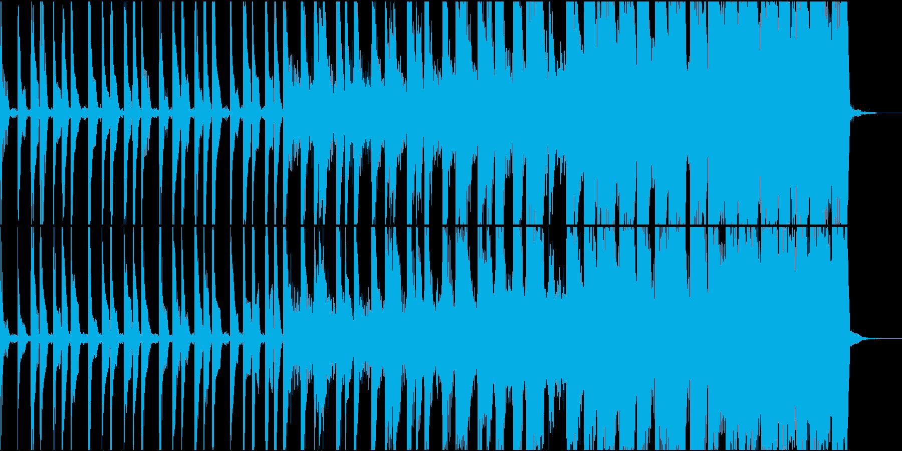 ゴリゴリEDM OP、ゲームの再生済みの波形