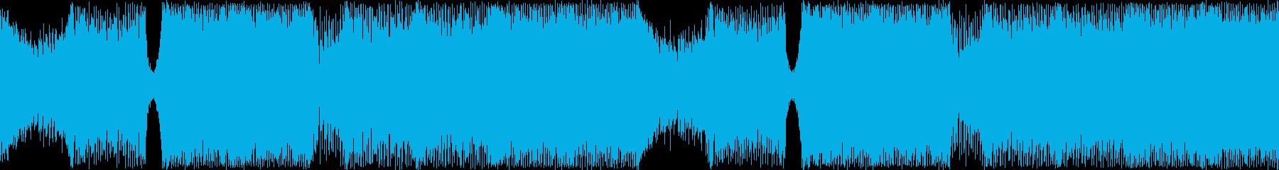 ジュリアナ系ハイパーテクノレイブ神秘的の再生済みの波形