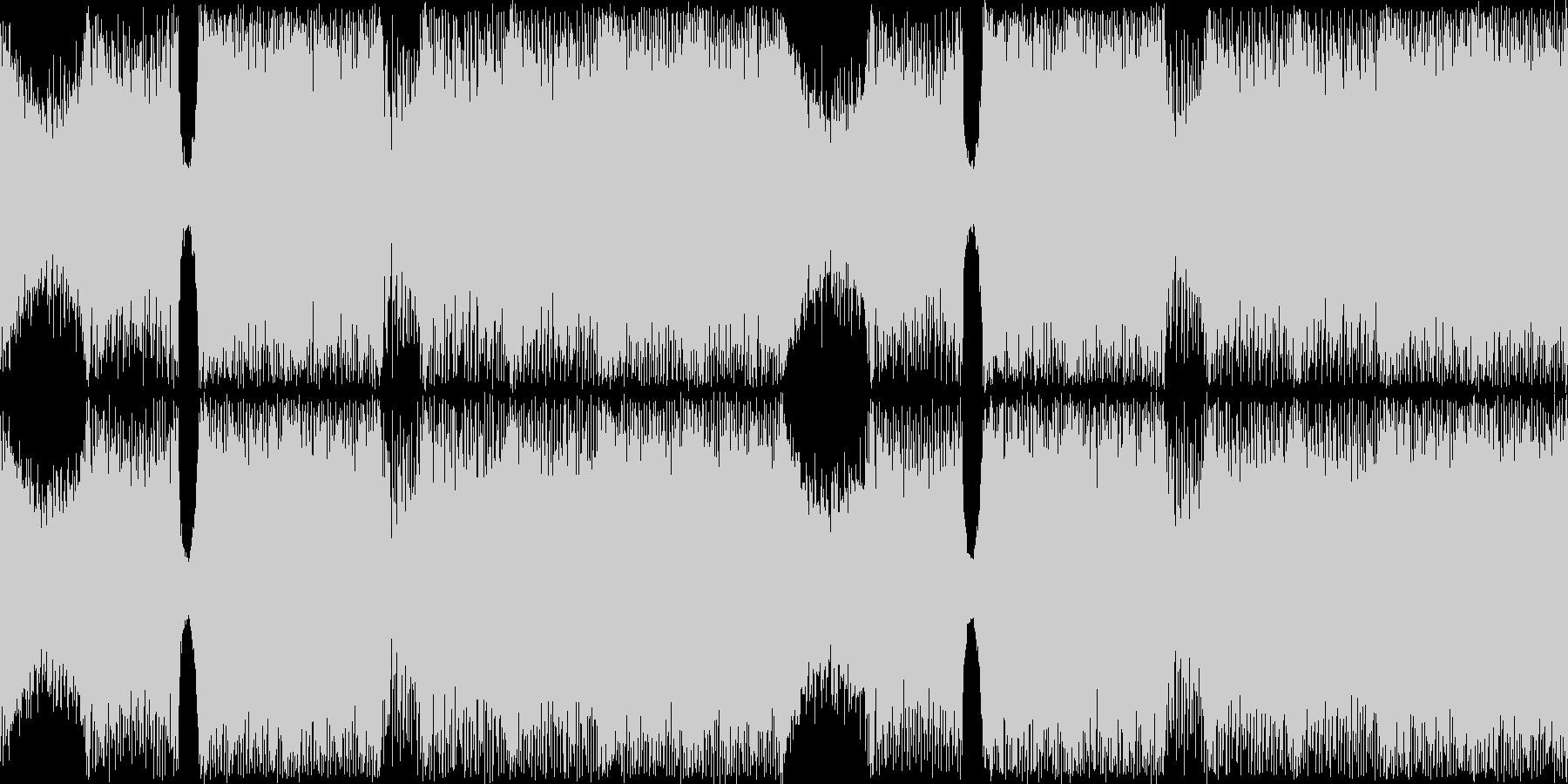 ジュリアナ系ハイパーテクノレイブ神秘的の未再生の波形