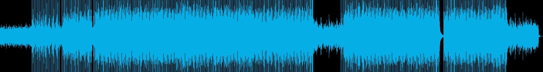 おしゃれなシンセ・ギターポップの再生済みの波形
