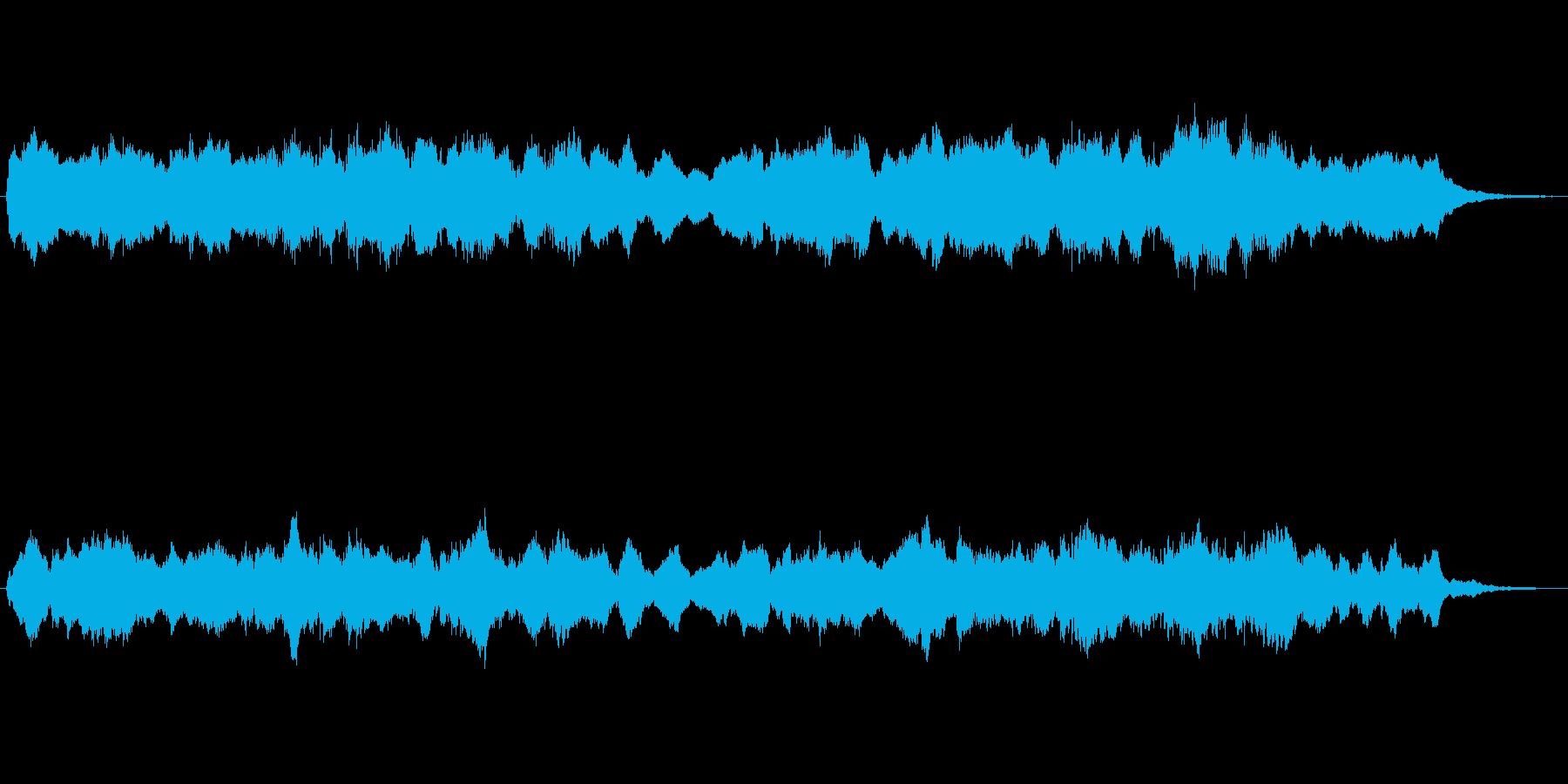 キラキラしたメルヘンチックなジングル5の再生済みの波形