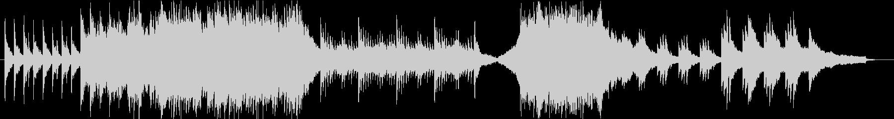 4種の展開のあるBGMの未再生の波形