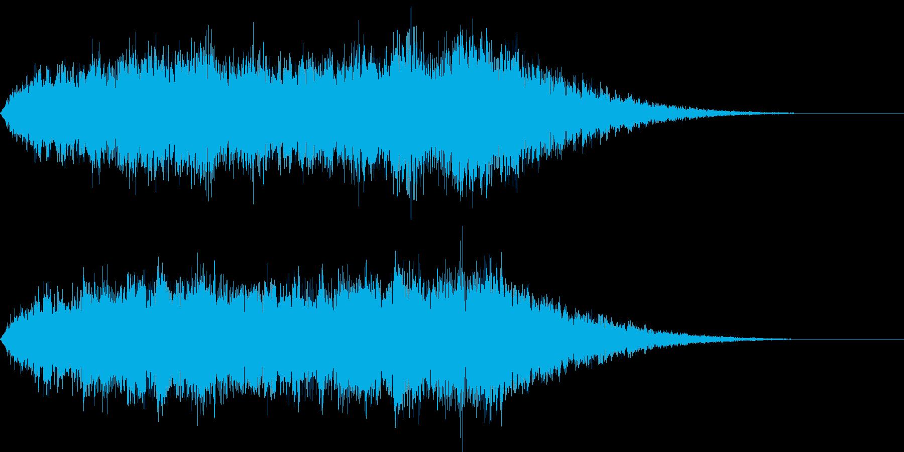 悲惨01_シンセの再生済みの波形