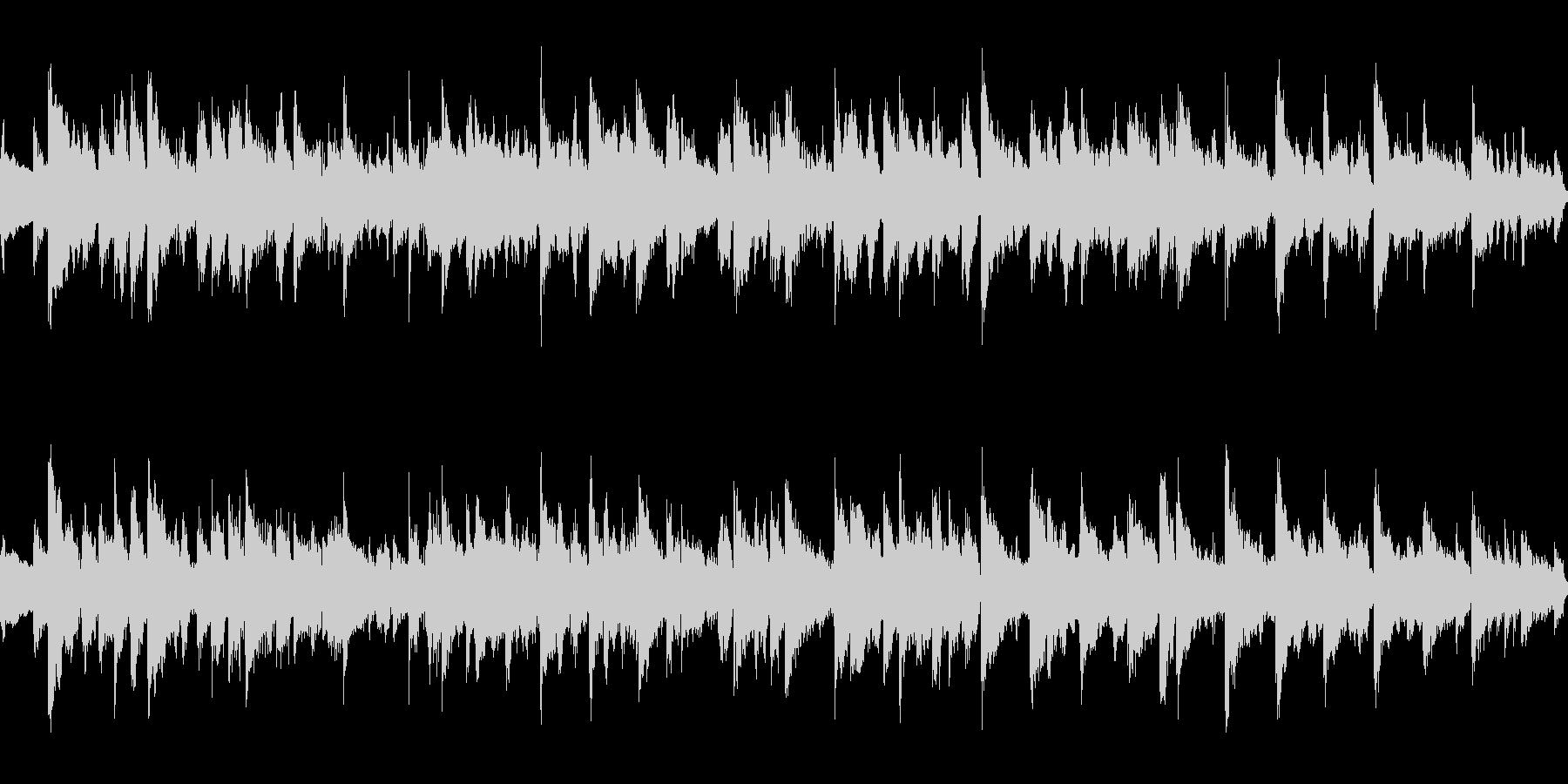 ジャズ ギターバラード ループ 生演奏の未再生の波形