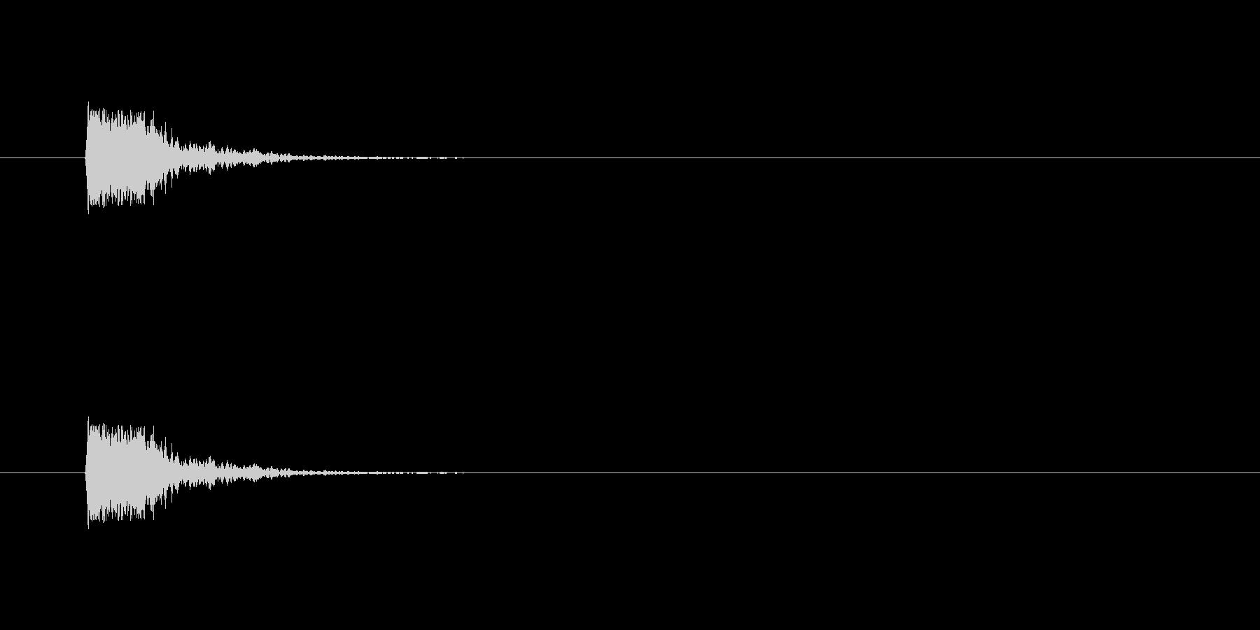 【ポンッ02-1】の未再生の波形