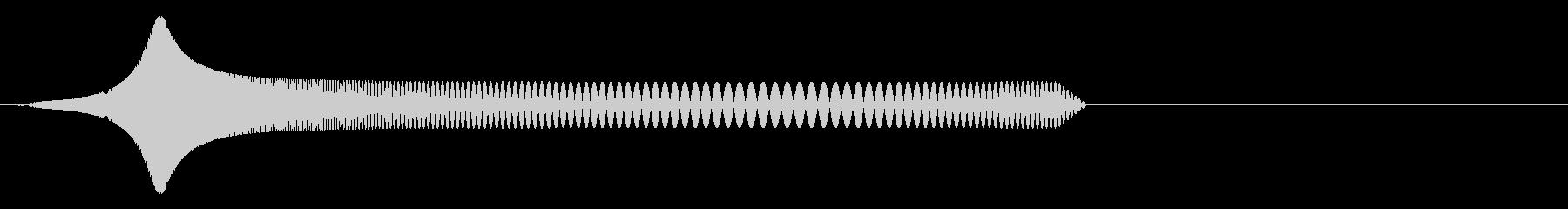 ちゅぽ(パズルゲームや可愛い足音に)の未再生の波形