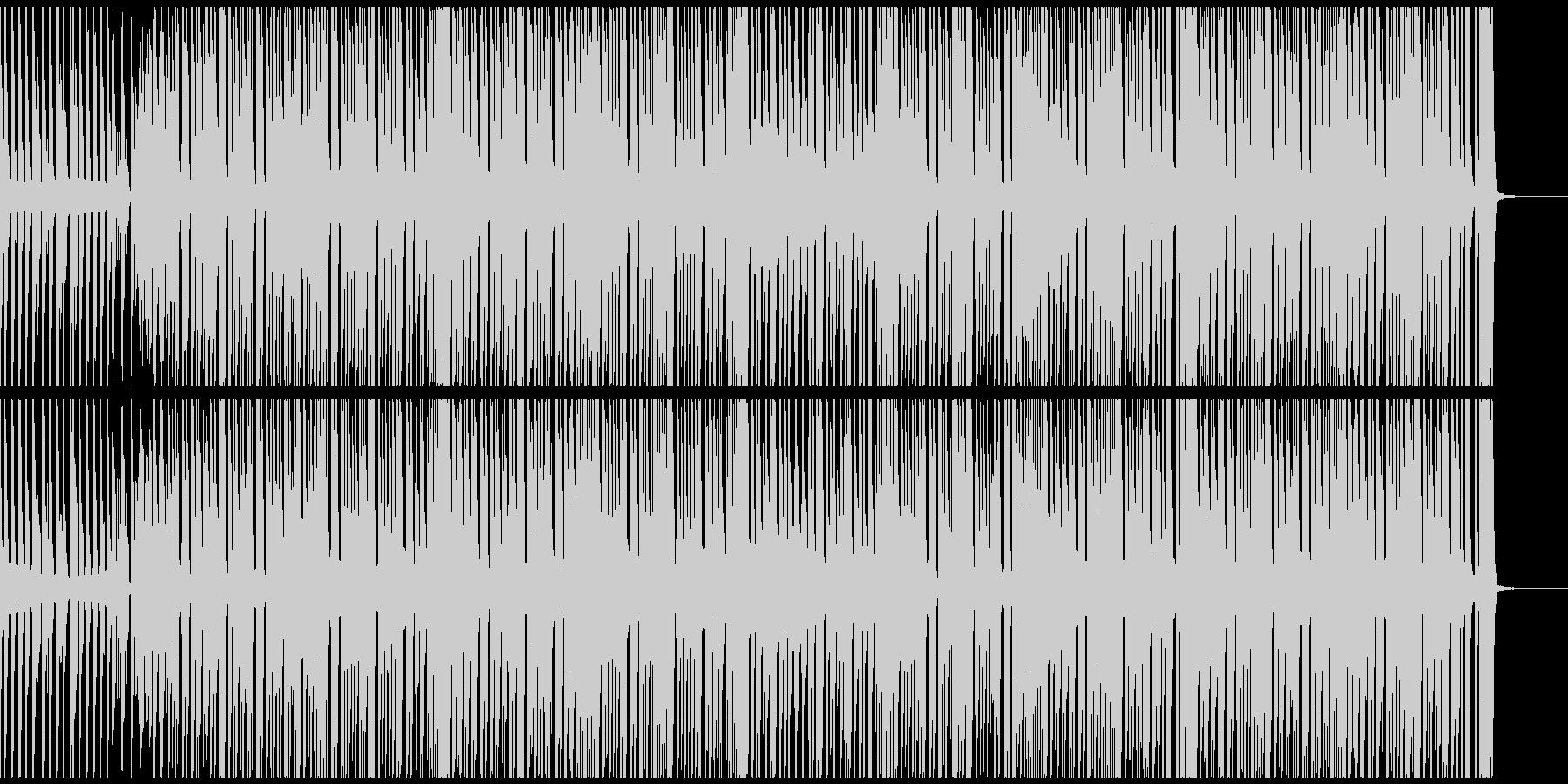 スタイリッシュで清々しいヒップホップの未再生の波形