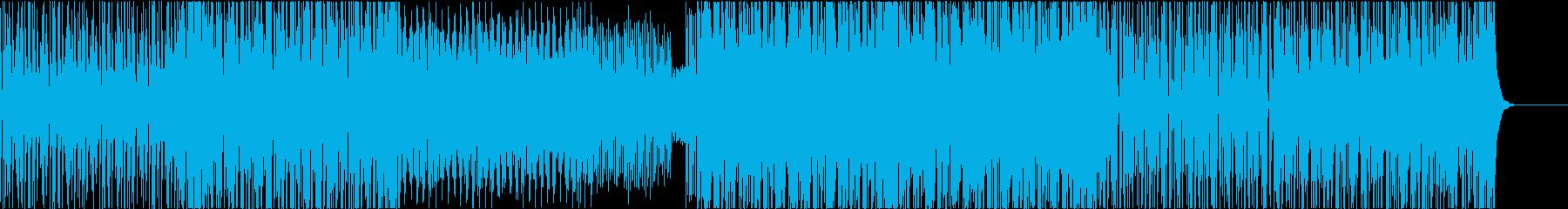 EDM トロピカル レゲエ 楽しいの再生済みの波形