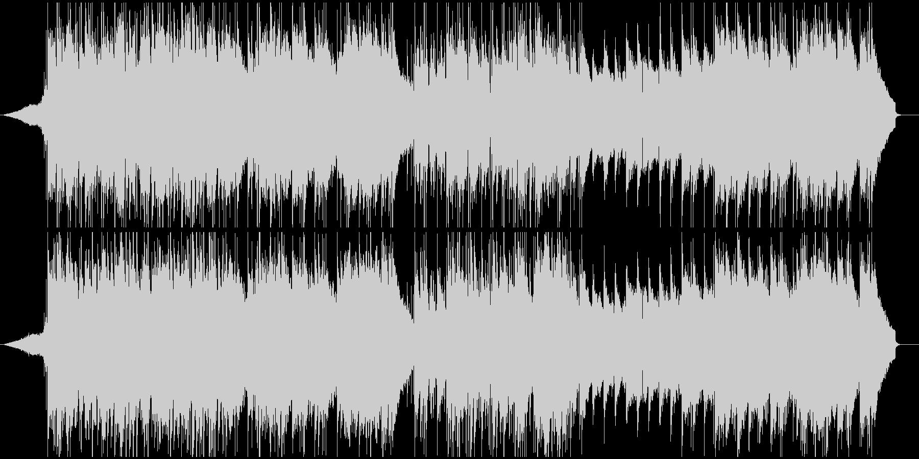 夏の情景/印象的なクロスオーバーワルツの未再生の波形