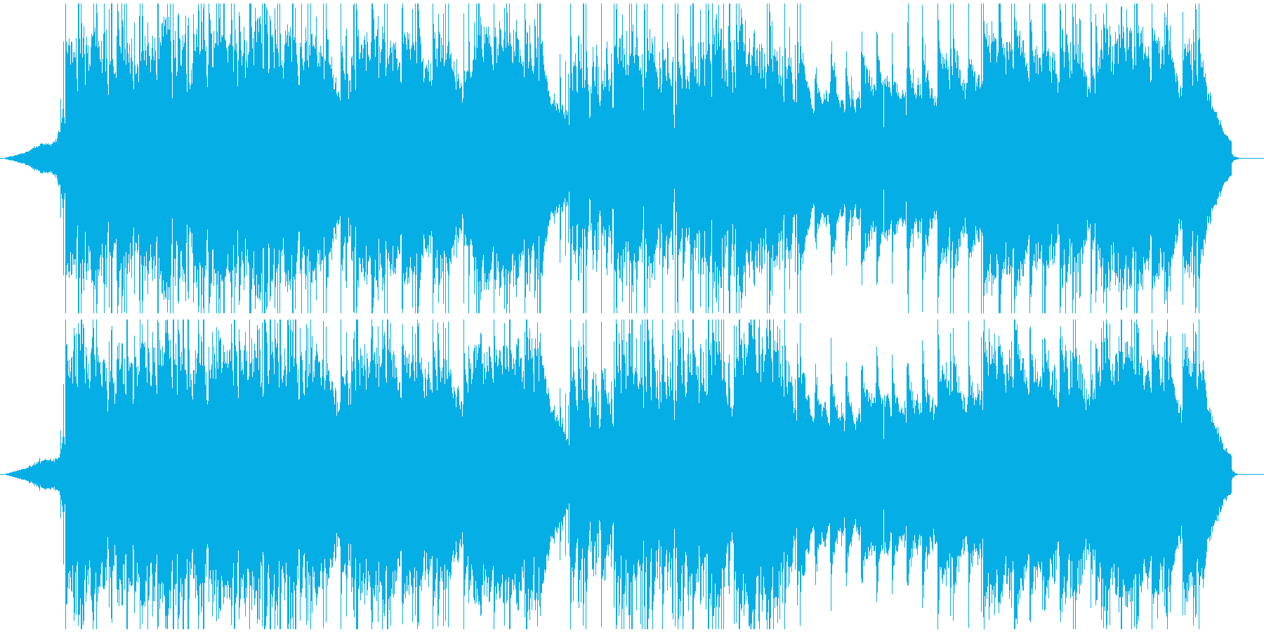 夏の情景/印象的なクロスオーバーワルツの再生済みの波形