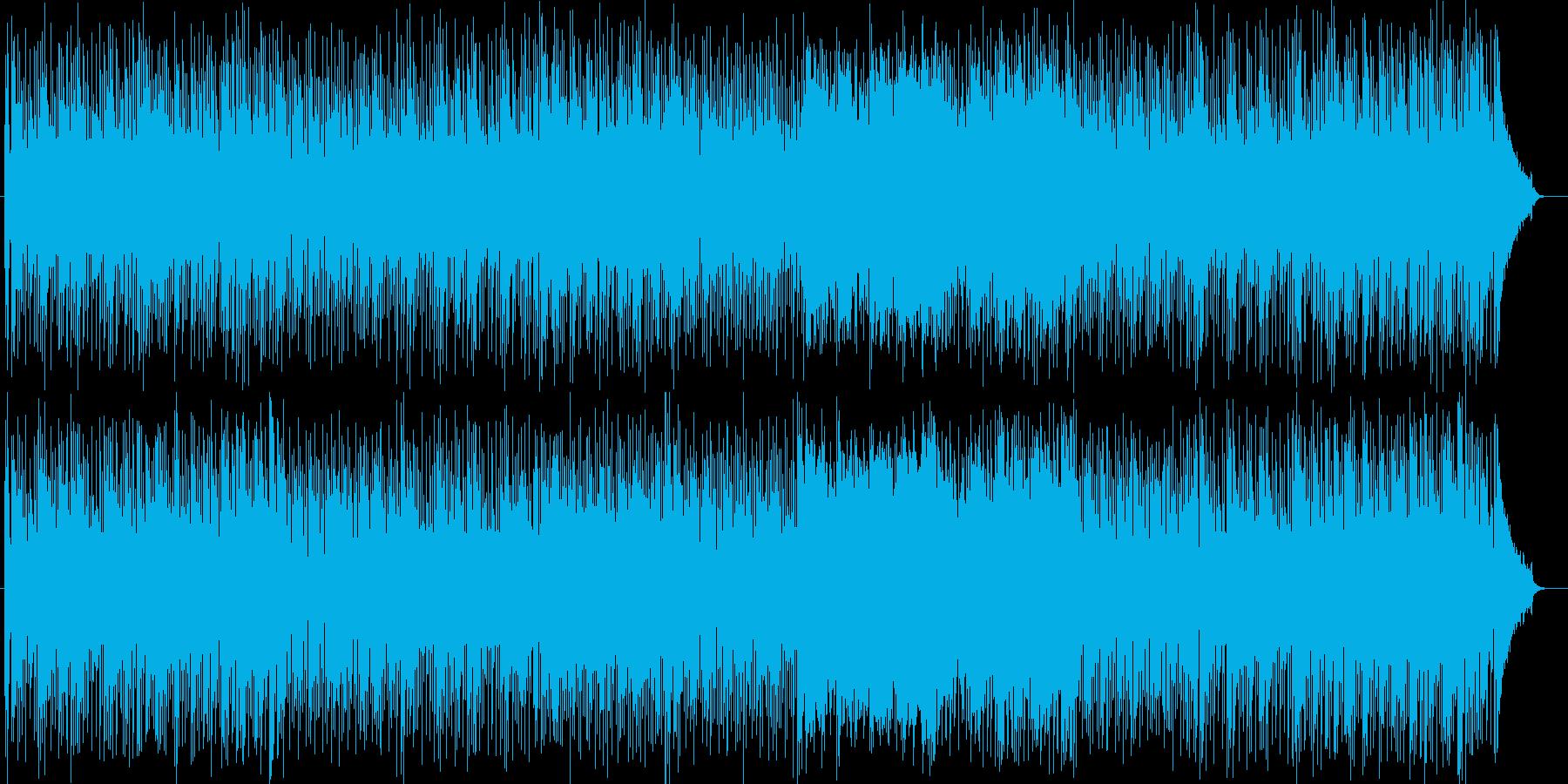爽やかな海辺のストーリーミュージックの再生済みの波形