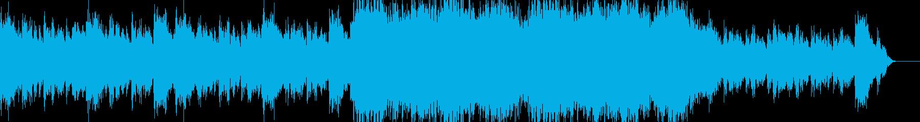 ゲーム ラスボス系 バトル曲の再生済みの波形