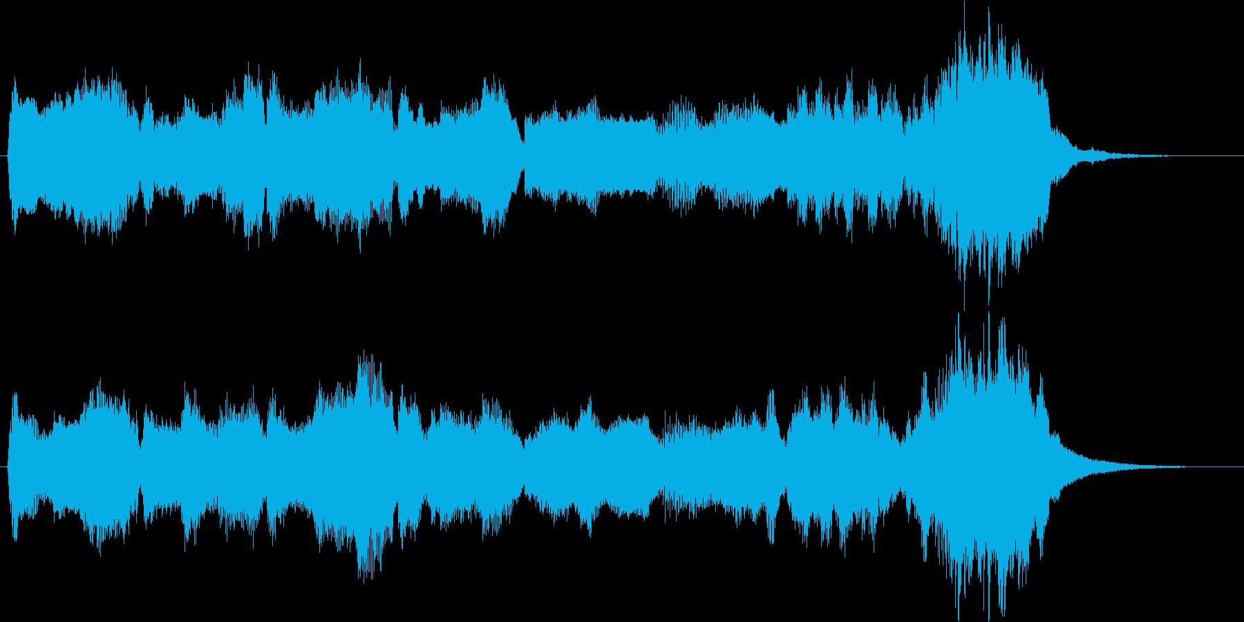 サンタクロース登場の再生済みの波形