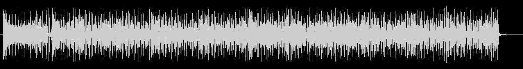 トロピカルで明るいシンセギターサウンドの未再生の波形