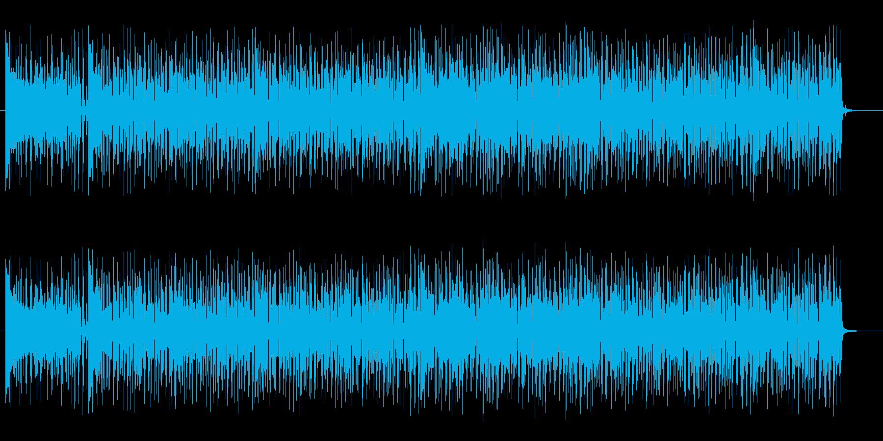 トロピカルで明るいシンセギターサウンドの再生済みの波形