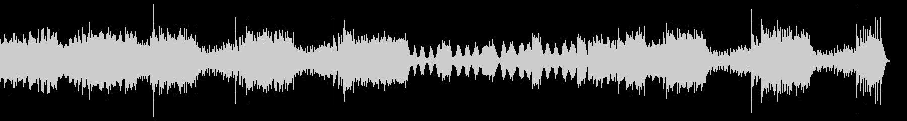 ブラームス作曲 ハンガリー舞曲の未再生の波形